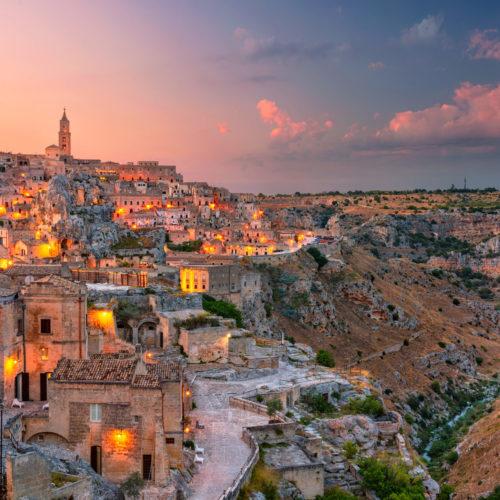 Matera Lights on Puglia
